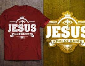 nº 28 pour Design a T-Shirt for Jesus King of Kings par GautamHP