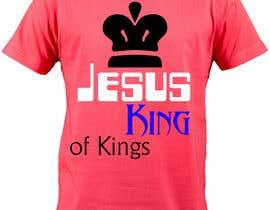 DesignTechBD tarafından Design a T-Shirt for Jesus King of Kings için no 22