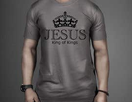 DesignTechBD tarafından Design a T-Shirt for Jesus King of Kings için no 24