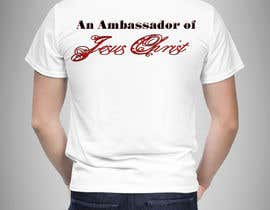 #43 para Design a T-Shirt for an Ambassador por shvacha