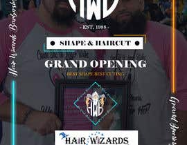 #17 for Grand Opening Barbershop af arghyab43