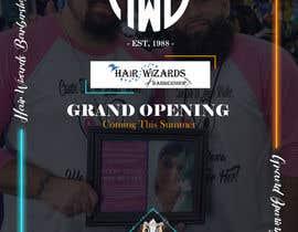 #24 for Grand Opening Barbershop af arghyab43