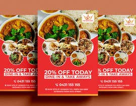 #13 for Design me a restaurant flyer by alakram420