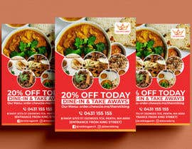 #23 for Design me a restaurant flyer by alakram420