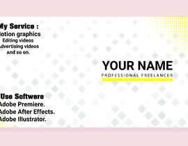 #38 for I need profissional banner for my cover photo in freelancer website by shantonusaha3