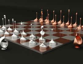 #83 cho Design 7 chess pieces, 3d print ready models. bởi sharkfreelancer