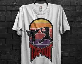 #4 for Modern T-shirt Design. Wrestling and Karate theme! by durjoyraj26