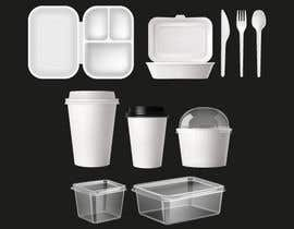 nº 32 pour Product Design Concept for incorporating Fork, Spoon, and Knife into disposable food packaging par fatimaC09