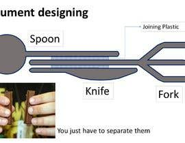 nº 18 pour Product Design Concept for incorporating Fork, Spoon, and Knife into disposable food packaging par zahidabir01