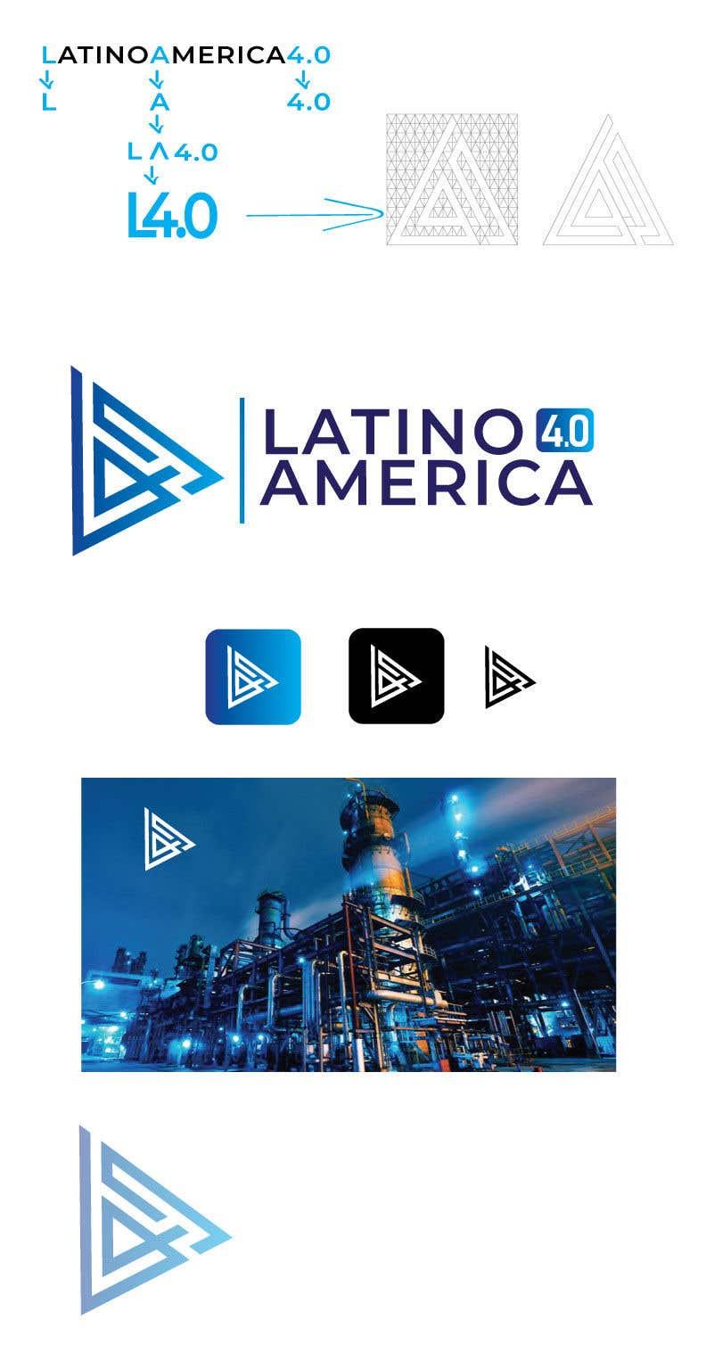 Participación en el concurso Nro.                                        51                                      para                                         LOGO LATINOAMERICA 4.0