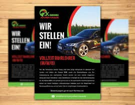 #109 für Poster for job advertisement for a driving school - 14/04/2021 08:18 EDT von jeevanmalra