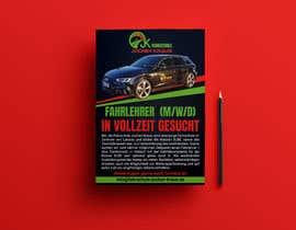 #57 für Poster for job advertisement for a driving school - 14/04/2021 08:18 EDT von imranislamanik
