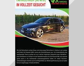 #13 für Poster for job advertisement for a driving school - 14/04/2021 08:18 EDT von DzineHut24