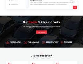 Nro 5 kilpailuun 1 Page Website Design  - 14/04/2021 12:01 EDT käyttäjältä Niloy74779