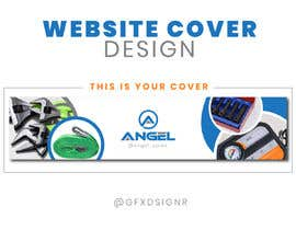 #10 for 1 Page Website Cover Design - Angel Sales by gfxdsignr