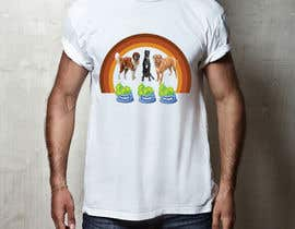 #9 for What are the BIG Dogs doing? Illustration T shirt Design by bairagythomas