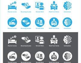 #9 for Design 5 icons af freelancerthebes