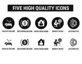 #27 untuk Design 5 icons oleh itsmerenjith