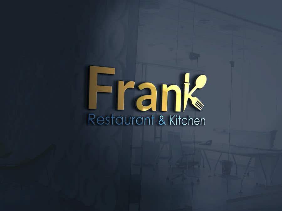 Kilpailutyö #                                        5                                      kilpailussa                                         Frank's Logo