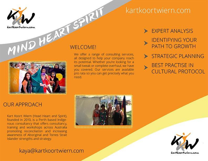 Konkurrenceindlæg #                                        11                                      for                                         Design a Brochure and logo for Kart Koort Wiern