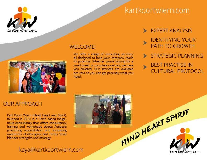 Konkurrenceindlæg #                                        12                                      for                                         Design a Brochure and logo for Kart Koort Wiern