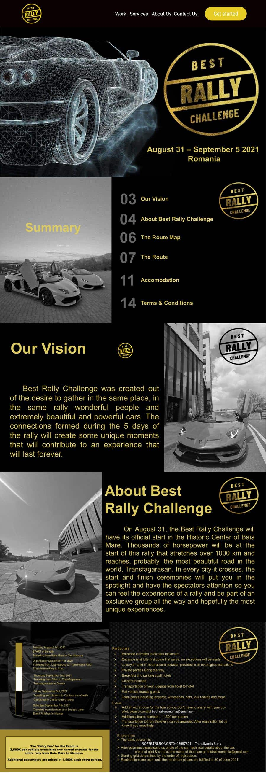 Contest Entry #                                        11                                      for                                         Best Rally Challenge