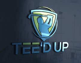 #116 for Logo Design - mobile golf simulator for: Tee'd Up (this is the company name) by ra3311288