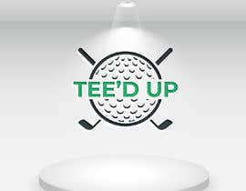 #126 for Logo Design - mobile golf simulator for: Tee'd Up (this is the company name) by designcute
