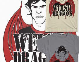 #3 untuk Design a T-Shirt inspired by Wales Footballers Gareth Bale and Aaron Ramsey Human/Dragon Hybrid oleh Fayeds