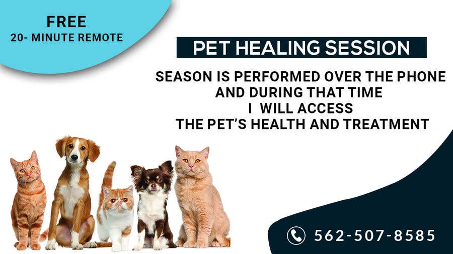 Contest Entry #                                        20                                      for                                         Need Pet Healer Ad Created for Craigslist