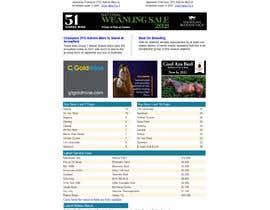 #38 untuk Newsletter redesign oleh CreativeArty