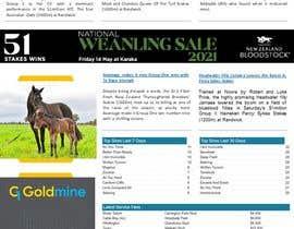 #12 untuk Newsletter redesign oleh pencho08