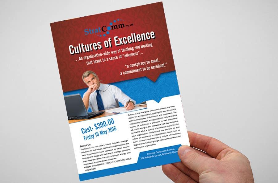 Bài tham dự cuộc thi #1 cho Design a corporate workshop flyer