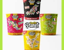 #396 for Logo and noodle cups design af elenaglez