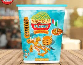#466 for Logo and noodle cups design af Adreyat08