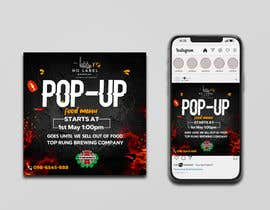#131 untuk Advertisement for a pop-up oleh Julfikarsohan