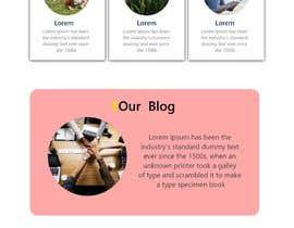 aghaasadali5 tarafından Time-Tracking Software landing page web design için no 3