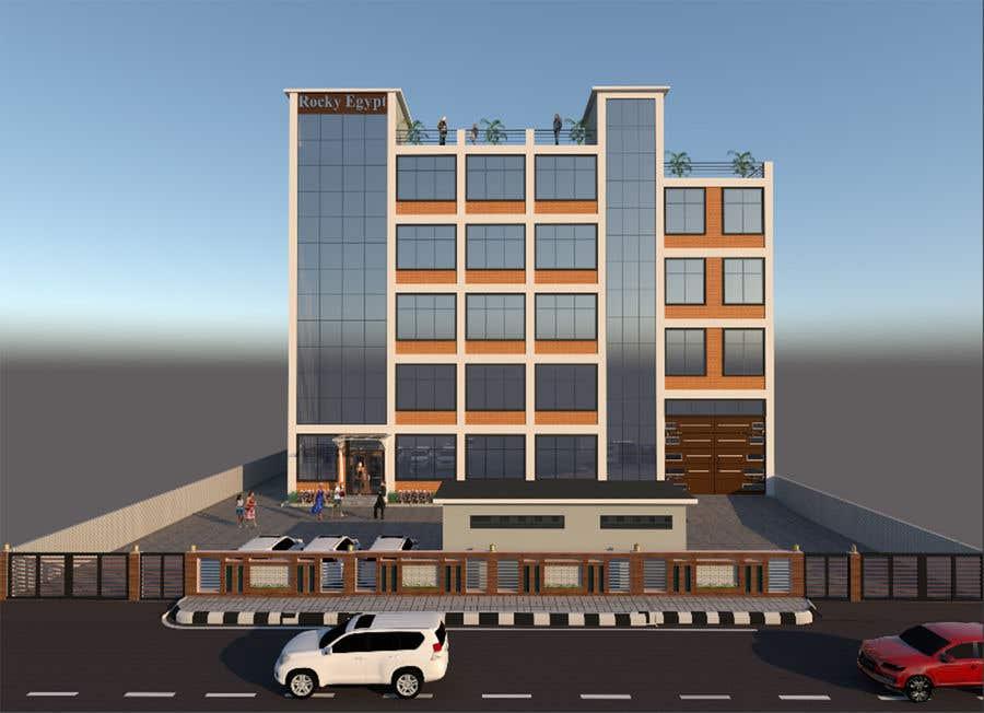 Конкурсная заявка №                                        20                                      для                                         Factory facade design with 3D