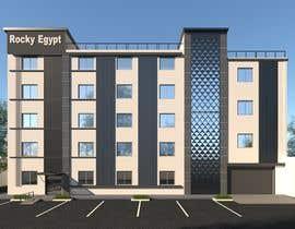 #26 for Factory facade design with 3D af esraaehabmm