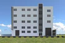 Factory facade design with 3D için 3D Modelling19 No.lu Yarışma Girdisi
