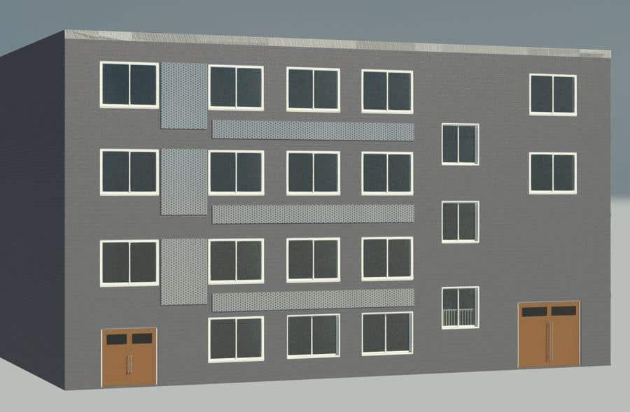Konkurrenceindlæg #                                        6                                      for                                         Factory facade design with 3D