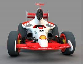 #41 for CARTOON PORTRAIT ILLUSTRATION & 3-D CARTOON RACE CAR DESIGN IN NASCAR DESIGN COLOR WRAP by ajmahinkabir
