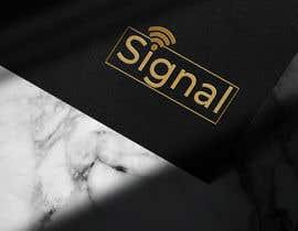 #89 untuk Signal logo redesign oleh navirmd
