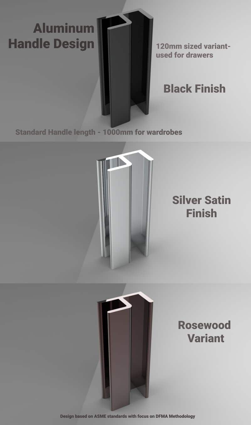 Proposition n°                                        48                                      du concours                                         Tall Aluminum Handles for Openable or Sliding Wardrobes
