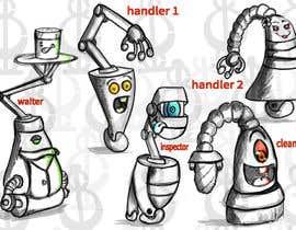 #50 cho Draw us 5 goofy robots bởi GhoneamArt