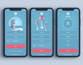 #5 cho A 3page mobile app design bởi AJAMAAN