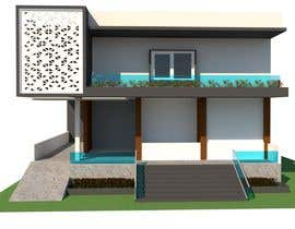 #29 untuk House Elevation and 3D design oleh abolideshpande10