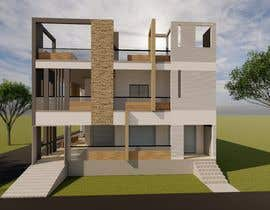 #28 untuk House Elevation and 3D design oleh archhasib
