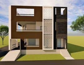 #31 untuk House Elevation and 3D design oleh archhasib