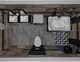 #12 untuk Bathroom 3d design oleh rumendas